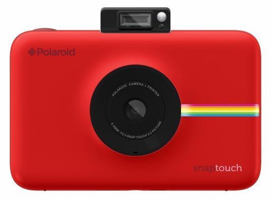 лучшая цена Фотокамера Polaroid Snap Touch с функцией мгновенной печати. Цвет красный.
