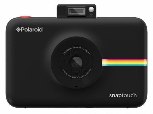 лучшая цена Фотокамера Polaroid Snap Touch с функцией мгновенной печати. Цвет черный.