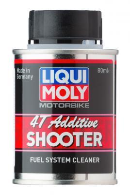 Очиститель топливной системы LiquiMoly Motorbike 4T Additiv Shooter 20591 liqui moly 20591 motorbike 4t additiv shooter 0 08л