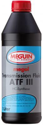 Минеральное трансмиссионное масло Meguin Transmission Fluid ATF III 1 л 4875 трансмиссионное масло ravenol cvtf ns2 j1 fluid 1л