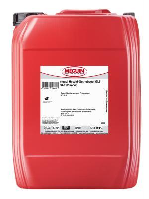 Минеральное трансмиссионное масло Meguin Hypoid-Getriebeoel 85W140 20 л 4891 минеральное трансмиссионное масло liquimoly hypoid getriebeoil 85w140 20 л 1027