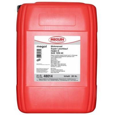 цена на НС-синтетическое моторное масло Meguin Motorenoil Super Leichtlauf FAMO R SAE 10W40 20 л 48014