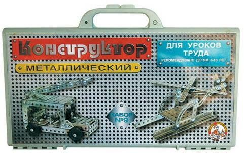 Металлический конструктор Тридевятое царство для уроков труда тридевятое царство 2028 металлический конструктор с подвижными деталями вертолет р56469