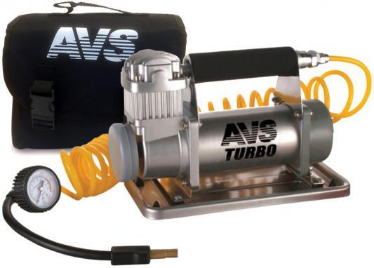 Компрессор автомобильный Turbo AVS KS 900 350Вт 12В 90л/мин 10Атм компрессор avs ke450l a80978s