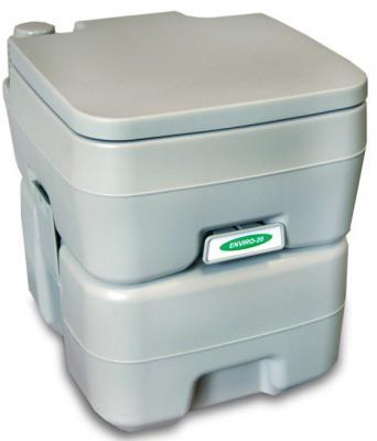 Биотуалет ENVIRO 20 жидкостный 10/20л помповый серый 415х365х420мм цена