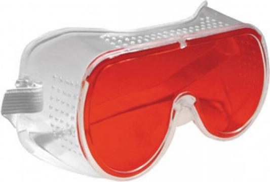 Очки защитные FIT 12210 красные аксессуар очки защитные fit 12219