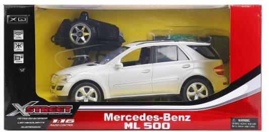 МАШИНА Р/У НА АККУМ.MERCEDES-BENZ ML500 1:16 СО СВЕТОМ, ЦВЕТ В АССОРТ. В КОР. в кор.6шт top gear лиценз маш р у mercedes benz m350 1 18 с заряд устройством