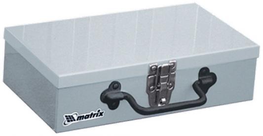Ящик для инструмента MATRIX 906055 284х160х78мм металлический ящик металлический hiba