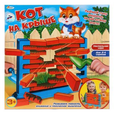 Настольная игра ИГРАЕМ ВМЕСТЕ Кот на крыше настольные игры играем вместе игра настольная футбол