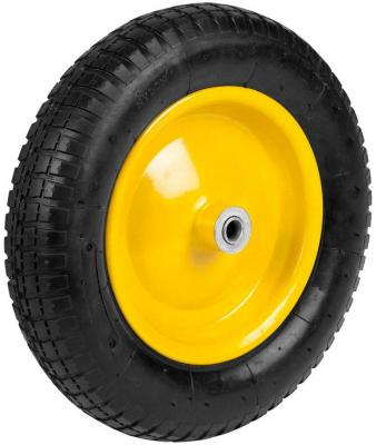 Колесо GRINDA 422405  пневматическое с подшипником для тачек арт. 422396 422399 360мм