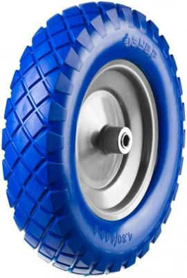 Колесо ЗУБР ПРОФЕССИОНАЛ 39912-2 полиуретановое 380мм посадочный размер 16мм колесо полиуретановое зубр профессионал 350 мм посадочный размер 16 мм