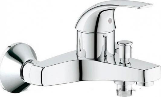 Смеситель для ванны GROHE BAUCURVE 32806000 хром однорычажный смеситель для ванны коллекция orich 35 g2202 однорычажный хром gappo гаппо