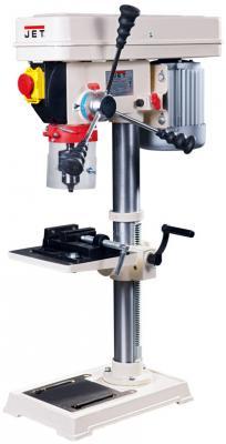 цена на Станок сверлильный JET JDP-10L 450Вт 220-2450об/мин 16мм ход 60мм + тиски