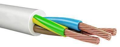 Провод соединительный ПВС Арзамасский кабельный завод 3x2.5 мм круглый 50м серый кабельный щит oem diy 64195 electronics project box