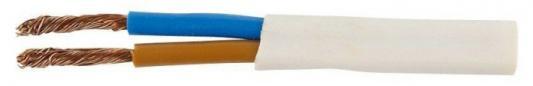 Провод соединительный ШВВП РЭК-PRYSMIAN 2x0.75 мм круглый 300м белый цена 2017