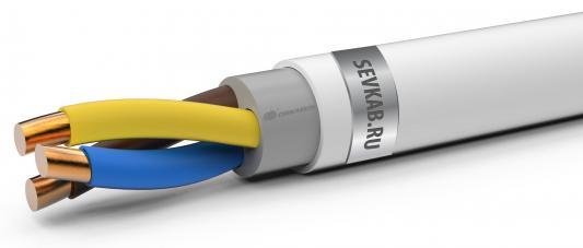 Кабель СЕВКАБЕЛЬ NYM 3х1,5ок(N,PE) 100м ГОСТ IEC 60227-4-2011