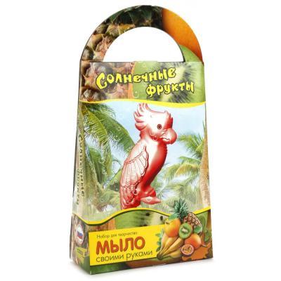 Набор для изготовления мыла Аромафабрика Солнечные фрукты от 8 лет набор для изготовления мыла аромафабрика слоник от 5 лет