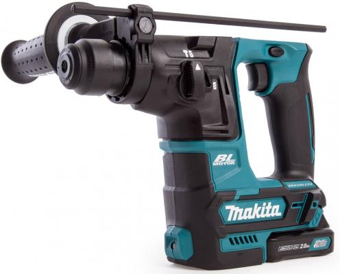 Перфоратор акк MAKITA HR166DWAE1 SDS+ б\\щет, 10.8В, 2х2АчLi-ion, 2реж, 1.1Дж, 0-4800у\\м, 64 насадк перфоратор акк makita hr166dwae1 sds б щет 10 8в 2х2ачli ion 2реж 1 1дж 0 4800у м 64 насадк