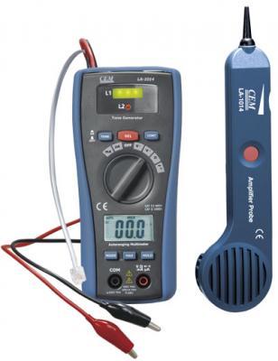 Детектор скрытой проводки СЕМ LA-1014 кабель тестер + мультиметр. детектор скрытой проводки кратон 30мм