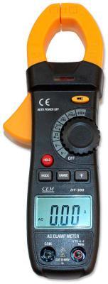 Токовые клещи CEM DT-380 клещи cem dt 3348