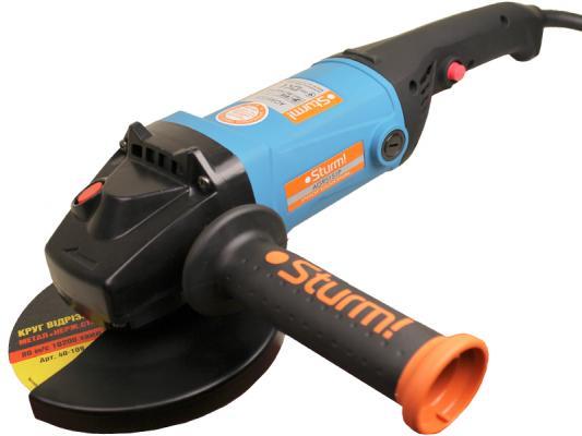 Углошлифовальная машина Sturm AG95151P 150 мм 1400 Вт щеточная шлифмашина sturm ag1014p 120 мм 1400 вт