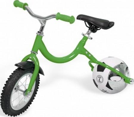Фото - Беговел с колесом в виде мяча «ВЕЛОБОЛЛ» зелёный Bike on ball велосипед с колесами в виде мячей баскетбайк зелёный walking bike on ball two