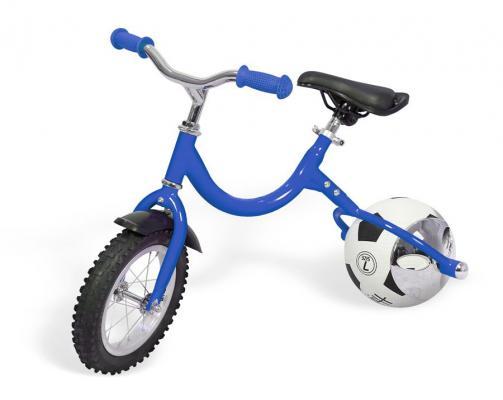 Фото - Беговел с колесом в виде мяча «ВЕЛОБОЛЛ» синий Bike on ball велосипед с колесами в виде мячей баскетбайк зелёный walking bike on ball two