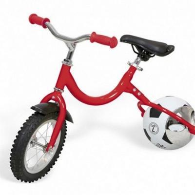 Купить Беговел с колесом в виде мяча «ВЕЛОБОЛЛ» красный Bike on ball, Bradex, Беговелы (велобалансиры) для детей