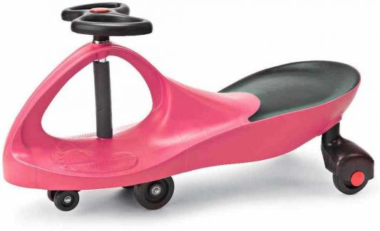 Машинка детская розовая «БИБИКАР» Bibicar, pink colour машинка детская с полиуретановыми колесами салатово оранжевая бибикар bibicar new type orange green colour pu wheels