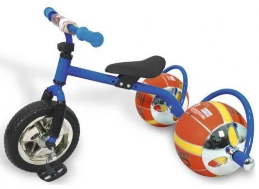 Фото - Велосипед с колесами в виде мячей «БАСКЕТБАЙК» синий Walking bike on ball, two велосипед с колесами в виде мячей баскетбайк зелёный walking bike on ball two