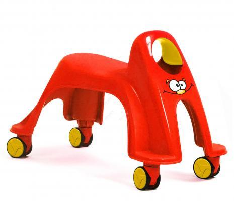 Каталка детская «ВИХРЬ» красный Neon Whirlee bradex каталка детская вихрь фиолетовый