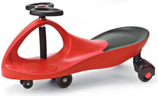 Машинка детская, красная «БИБИКАР» Bibicar, red colour, PVC wheels машинка детская с полиуретановыми колесами салатово оранжевая бибикар bibicar new type orange green colour pu wheels