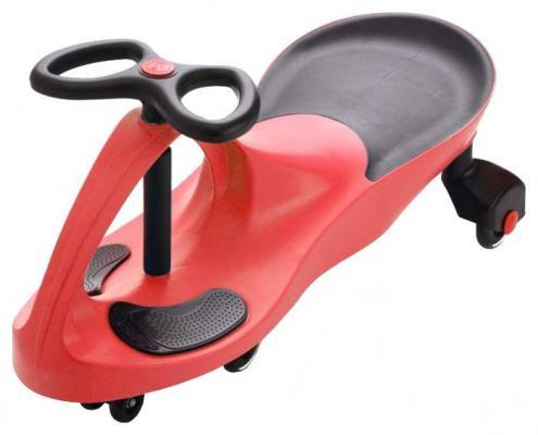 Машинка детская с полиуретановыми колесами красная «БИБИКАР» Bibicar, red colour, PU wheels вращающийся гриф для тяги сверху параллельным хватом с полиуретановыми рукоятками aerofit g brg 06 pu