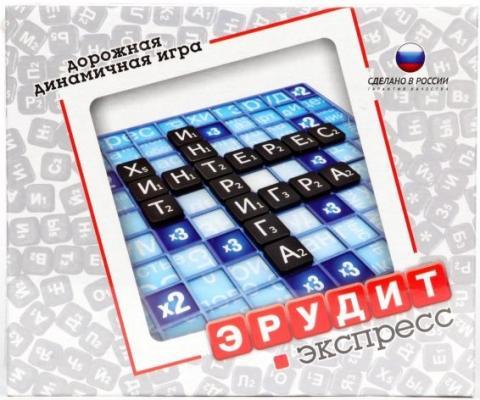 Настольная игра Биплант логическая ЭРУДИТ ЭКСПРЕСС настольные игры биплант настольная игра эрудит экспресс