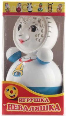 Купить Неваляшка Котовск НЕВАЛЯШКА 6C-022, белый, голубой, Неваляшки, юла