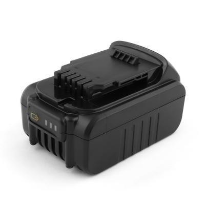 Аккумулятор для DeWalt 18V 4.0Ah (Li-Ion) DCD, DCF, DCG, DCL, DCN, DCS Series. DCB180, DCB181, DCB182, DCB183. аккумулятор dewalt 18в 2ач li ion xr серия dcb183