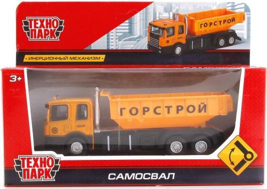 Купить Самосвал Технопарк САМОСВАЛ оранжевый 1583361-R, ТЕХНОПАРК, Детские модели машинок