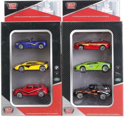 Набор Технопарк НАБОР ИЗ 3-Х МАШИН 1:72 разноцветный TOP826 набор из 3 х машин технопарк лицензии технопарк