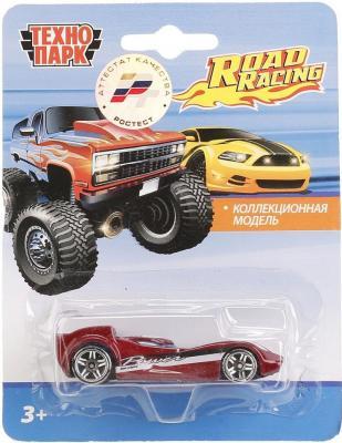 Автомобиль Технопарк СПОРТКАР красный 1605I087-R