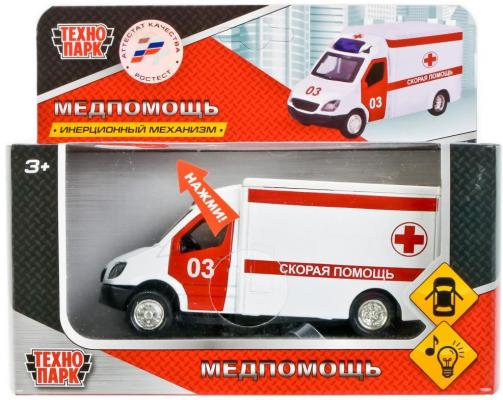 Спецтехника Технопарк МАШИНА белый FY5058-S