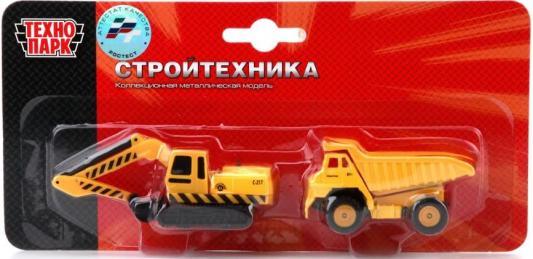 Строительная техника Технопарк СТРОИТ. ТЕХНИКА желтый 2 шт 24 см SB-15-19-BLC технопарк набор из 2 моделей стройтехника 7 5 см sb 15 05 blc 144
