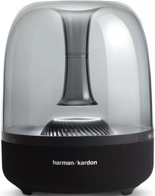 Динамик Harman Kardon Портативная акустическая система Harman Kardon Aura Studio 2 черная rome style women s sandals with rivet and flat heel design