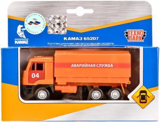 Аварийная служба Технопарк КАМАЗ оранжевый 12 см SB-16-89-B4-WB машины технопарк машина урал аварийная служба