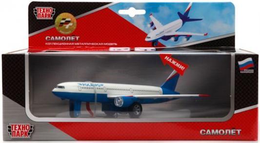 Самолет Технопарк САМОЛЕТ белый 51473 самолет цена