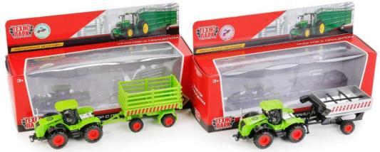 Купить Трактор Технопарк ТРАКТОР зеленый 77039-R, ТЕХНОПАРК, Детские модели машинок