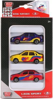 Набор Технопарк LADA разноцветный SB-16-79WB(3 PAK) игрушка технопарк lada в спорт окраске 3шт sb 16 79wb