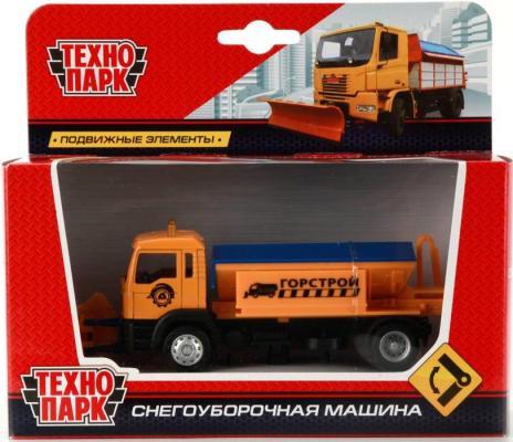 цена на Снегоуборочная машина Технопарк СНЕГОУБОРЩИК оранжевый U1401D-8