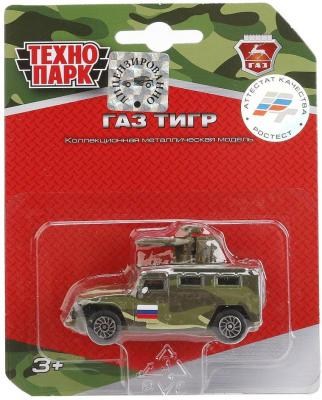 БТР Технопарк ГАЗ ТИГР камуфляжный SB-16-73-B-BLC машинка технопарк газ тигр 1 43