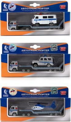 Купить Транспортер Технопарк КАМАЗ серый SB-15-04-5-WB, ТЕХНОПАРК, Детские модели машинок