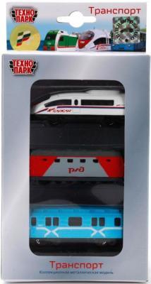 Набор Технопарк ТРАНСПОРТ разноцветный SB-15-26 игрушка технопарк трамвай sb 13 01 2t